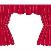 Curtain raster — Stock Photo