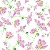 Rose flower pattern cosmos raster — Stock Photo
