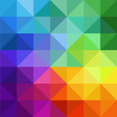 Multicolor triangular background Triangelis — Stock Photo