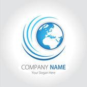 Company (Business) Logo Design, Vector — Stock Vector