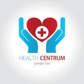 Company (Business) Logo Design, Vector, Health — Stock Vector