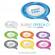 Bubbles Speech, Vector — Stock Vector