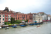 Venezia grand canal view — Stock Photo