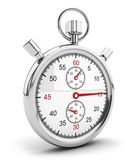 3d stopwatch icon — Stock Photo