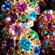 Colourful jewels — Stock fotografie
