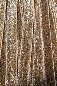 Gold ribbon — Stock Photo