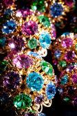Färgglada juveler — Stockfoto
