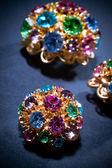 Colourful jewels — Stock Photo