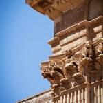 Columns, St Irene's church, Lecce, Italy — Stock Photo