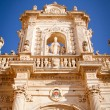 Detail of Lecce's cathedral - Stock Photo
