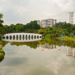 Chinese garden, Singapore — Stock Photo