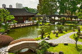 Japanese garden in Singapore — Stock Photo