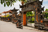 Balinese architecture — Stock Photo