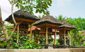 Balinese home temple — Stock Photo