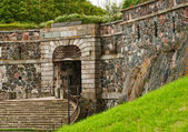 Input from landing stage in a fortress of Suomenlinna (Sveaborg) — Stock Photo