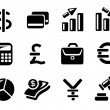 Royalty-Free Stock Vector Image: Finance icons