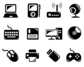 Hardware icons — Stock Vector