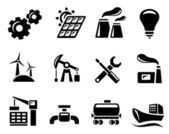 Industrial icons — Vettoriale Stock