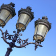 Vintage Street Lamp - Stock Photo