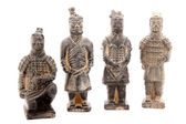 Terracotta warriors — Stock fotografie
