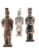 Terracotta warriors — Stock Photo