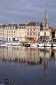 Port Honfleur Normandy France — Stock Photo