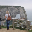 Lovers Cliffs of Etretat Normandy France — Stock Photo #10759175