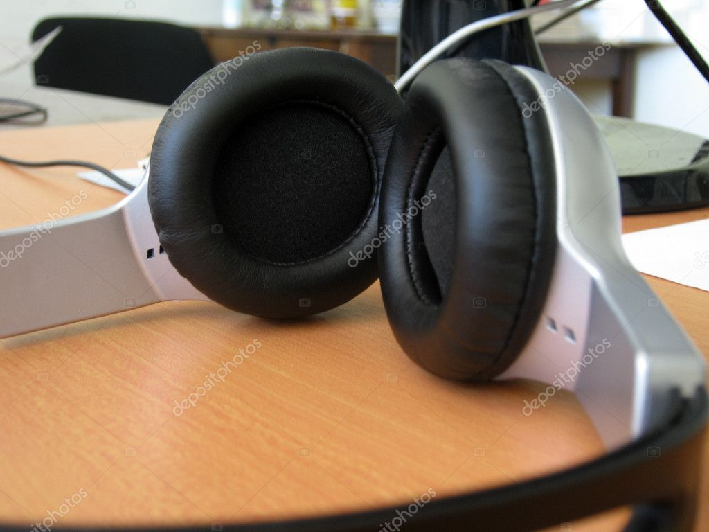 Stereo headphones in a series of &quot;Music&quot;  Stock Photo #11237367