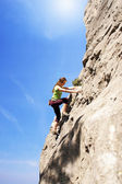 Gerl climber — Stock Photo
