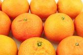 Lots of mandarins — Stock Photo