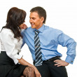 Business romance — Stock Photo