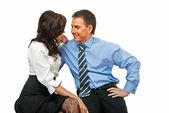 Business romance — Stock Photo