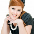 Smiling redheaded — Stock Photo #11258142