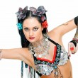 Tribal dancer — Stock Photo
