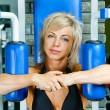 Stock Photo: Beauty bodybuilder