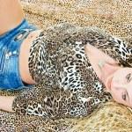 Leopards tone — Stock Photo