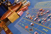 Roulettes game — Stock Photo