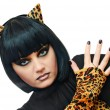 Royalty-Free Stock Photo: Cat woman
