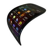Flexible generic smartphone — Stock Photo