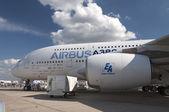 O airbus a380 — Fotografia Stock
