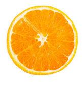 Orange on white background — Stock Photo
