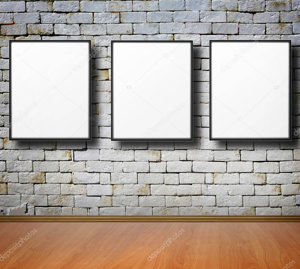 Empty frames on wall stock photo violetkaipa 10754504 for What to do with empty picture frames