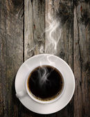 Hot coffee — Stock fotografie
