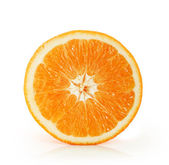 Orange on white background — Stock Photo