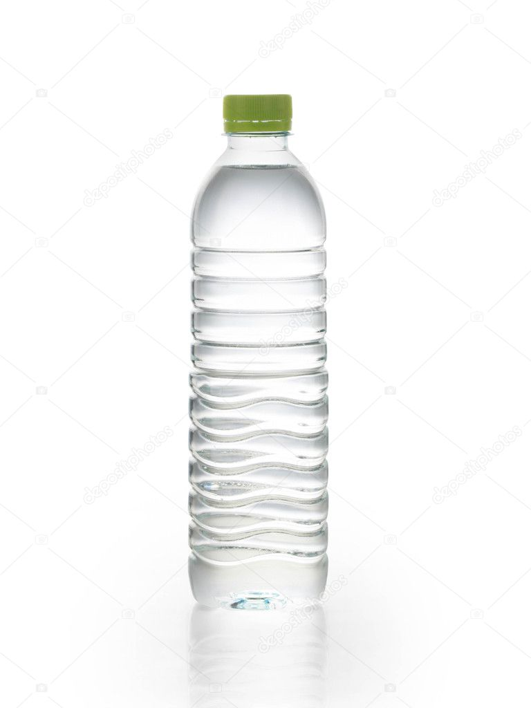 Bottle of water isolated on white background — Stock Photo #11036641