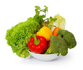 Many vegetables — Stock Photo