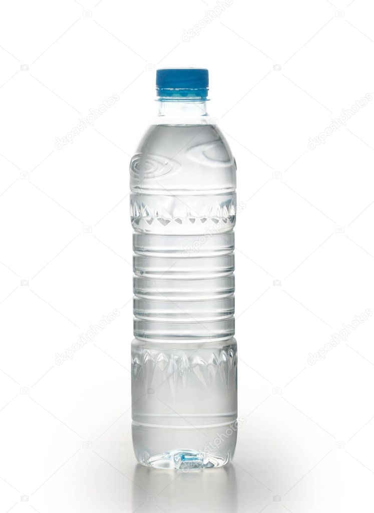 Bottle of water isolated on white background — Stock Photo #11135662