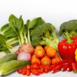 Many vegetables — Stock Photo