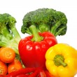 Many vegetables — Stockfoto