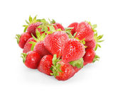 Heart from strawberry — Stock Photo